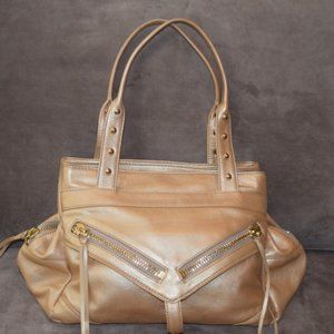 Botkier Trigger Soft Gold Leather Bag Perfect Cond